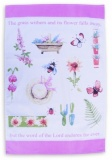 Flowers of the Field Tea Towel