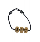 A2J (Addicted 2 Jesus) Beige Bracelet