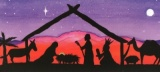 Come To Worship Christmas Cards - Pack of 10