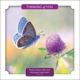 Thinking of You - John 14:27 Greetings Card