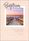 Baptism Blessings Greetings Card - Beach