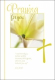 Praying for You - Greetings Card - Acts 20:32