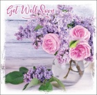 Get Well Soon - Greetings Card (2 Thessalonians 2:16)