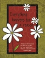 Everything Happens For a Reason  - Fridge Magnet