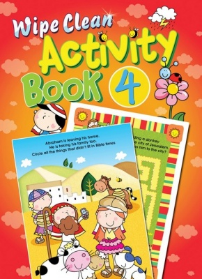 Wipe Clean Activity Book #4