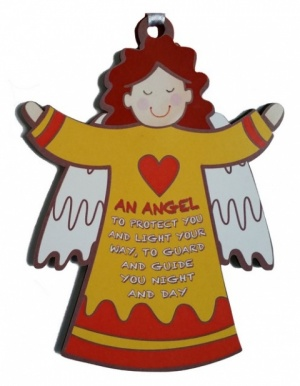 An Angel To Protect You - Wooden Angel