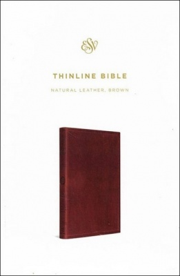 English Standard Version Genuine Leather Thinline Bible