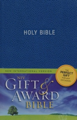 NIV Gift and Award Bible (Blue)