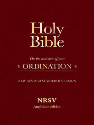 NRSV with Apocrypha Holy Bible - Ordination Edition