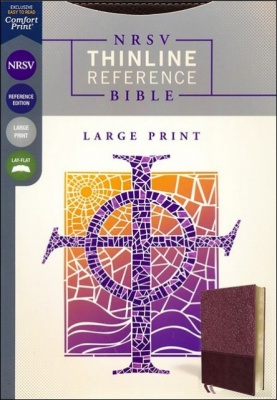NRSV Thinline Reference Large Print Bible