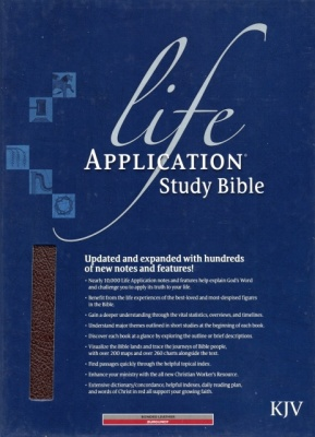 KJV Life Application Thumb Index Study Bible