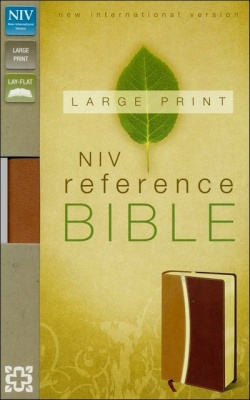 NIV Large Print Reference Bible