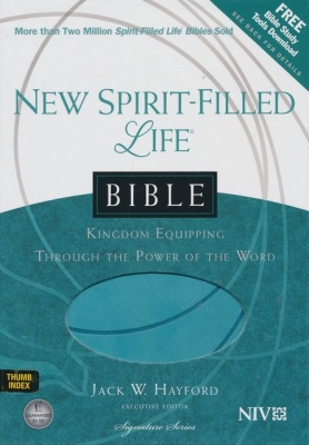 NIV New Spirit Filled Life Thumb Indexed Study Bible
