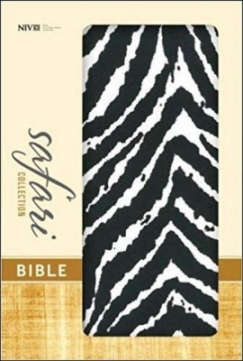 NIV Safari Collection Bible (Zebra)