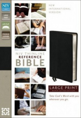 NIV Thinline Large Print Reference Bible