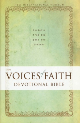 NIV Voices of Faith Devotional Bible
