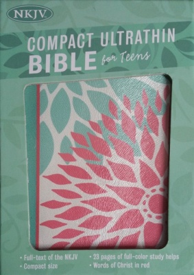 NKJV Compact Ultrathin Bible For Teens