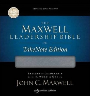 NKJV Maxwell Leadership Take Note Bible