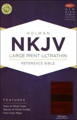 NKJV Ultrathin Large Print Reference Bible