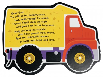 Truck Childrens Wall Plaque