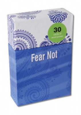 Word Power Cards - Fear Not