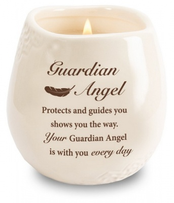 Guardian Angel - Stoneware Jar Candle