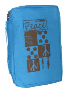 Peace Canvas Medium Bible Cover