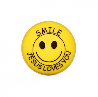 Smile Jesus Loves You - Fridge Magnet