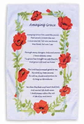 Amazing Grace Tea Towel 2 Pack