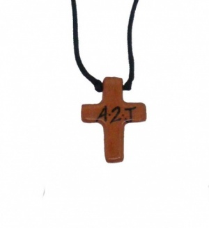 A2J (Addicted 2 Jesus) Terracotta Cross Necklace