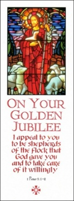 Golden Jubilee - Greetings Card