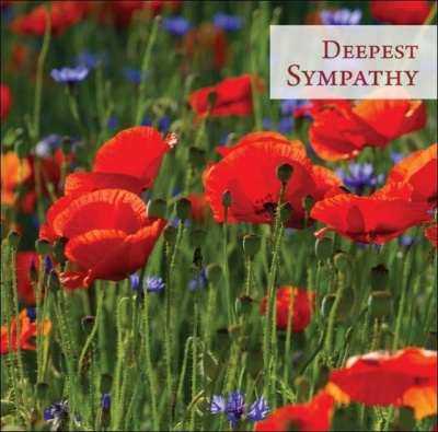 Deepest Sympathy - Greetings Card