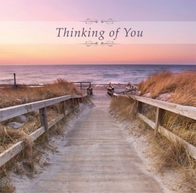 Thinking Of You - Greetings Card