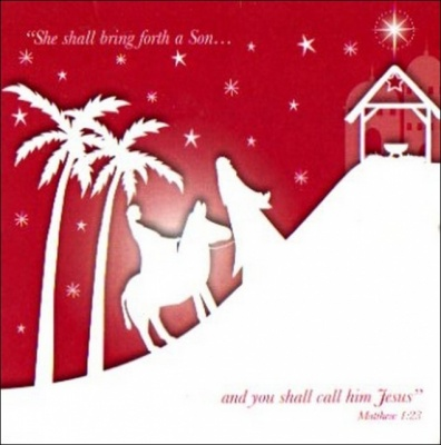 She Shall Bring Forth a Son... Christmas Cards - Pack of 5