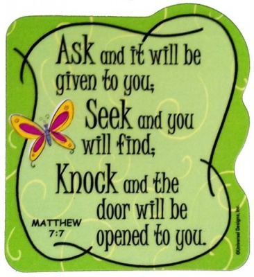 Ask And It Will Be - Fridge Magnet
