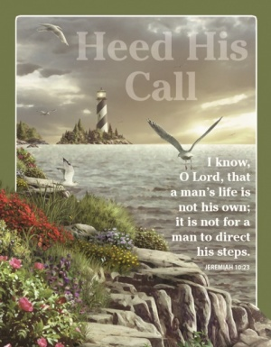 Heed His Call - Fridge Magnet