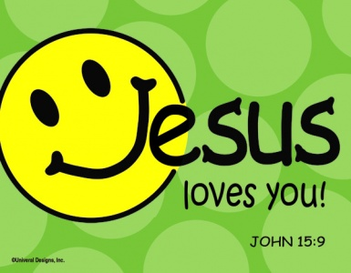 Jesus Loves You - Fridge Magnet