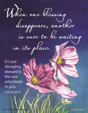 When One Blessing Disappears - Fridge Magnet