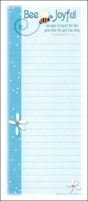 Bee Joyful - Magnetic Notepad