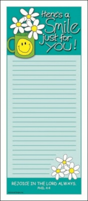 Here's A Smile - Magnetic Notepad